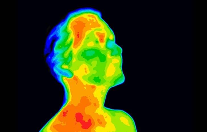 La baisse de température corporelle expliquée par un Polariste